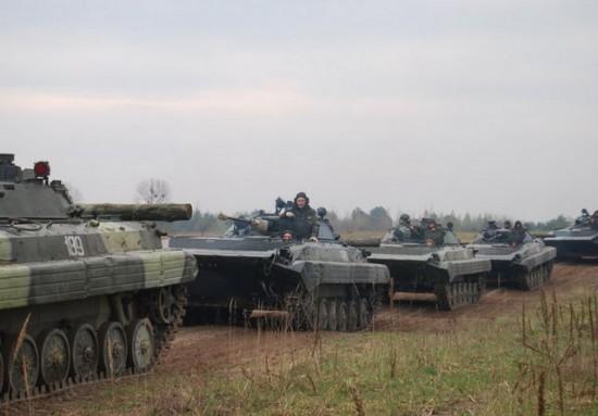 Подразделение украинских карателей