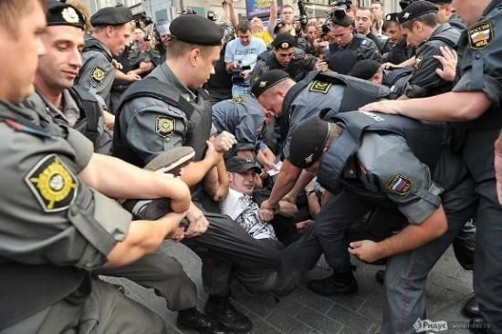 Российские милиционеры