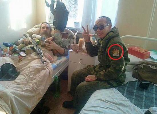 Раненный ополченец в одной из больниц Хацапетовки